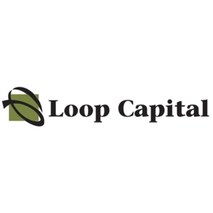 Loop Capital Logo with color graphic on white background