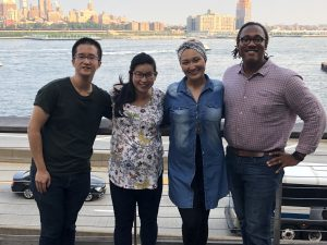 Braven-Newark Team: Dennis Ng, Alina Yang, Lissete Estrada, Vince Marigna