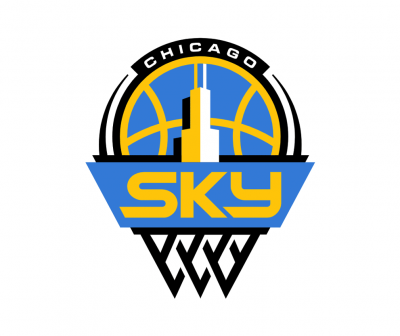 Chicago sky logo full color on transparent background