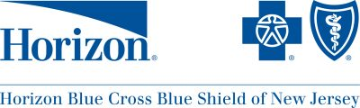 Horizon blue cross blue shield logo blue graphic with black text on transparent background