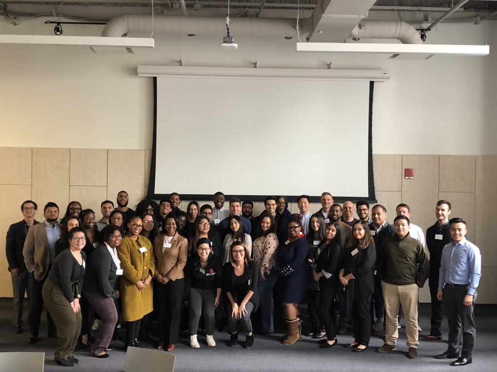 Group photo of Newark Professional Mentors