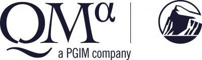 QMA logo in black serif font alongside Prudential logo